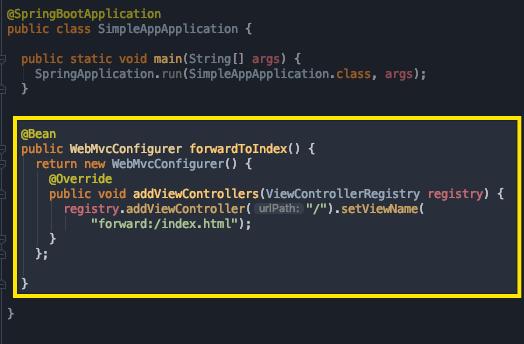 Spring Boot WebMvcConfigurer